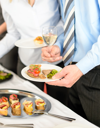 CATERING CORPORATE CLIENTS